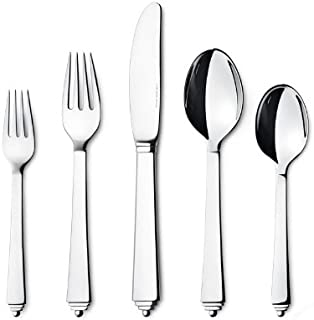 Georg Jensen Pyramid 5 Piece Stainless Steel Place Setting
