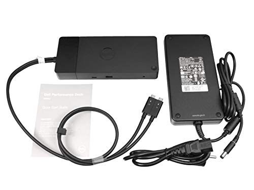 Dell WD19DC USB-C port replikator incl. 240W ac-adapter suitable Latitude 12 (7280) series