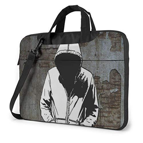 Portable Laptop Bag Sleeve Briefcase Unknown Laptop Sleeve Case 15.6 Inch Computer Tote Bag Shoulder Messenger Briefcase
