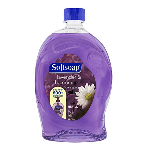 Softsoap Liquid Hand Soap Refill, Lavender and Chamomile - 56 fluid ounce (6 Pack)