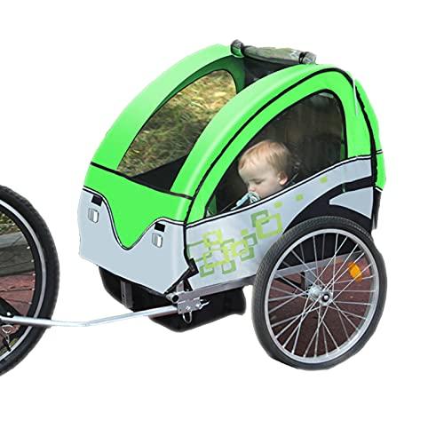 DUTUI Outdoor-Fahrradanhänger Für Kinder, Großes Mountainbike Für Ausflüge, Klappbarer Und Bequemer Sitz, Sicher Und Stabil