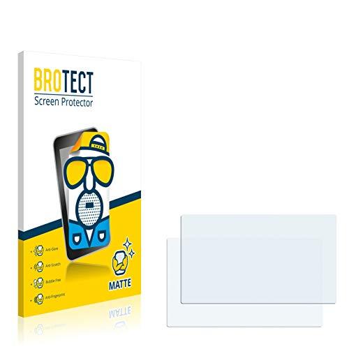 BROTECT 2X Entspiegelungs-Schutzfolie kompatibel mit Mitac Mio Moov M413 LM Bildschirmschutz-Folie Matt, Anti-Reflex, Anti-Fingerprint
