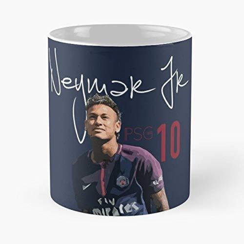 11 Paris Saint Brazil Jr Germain Psg Neymar 10 Best 11 oz Kaffeebecher - Nespresso Tassen Kaffee Motive