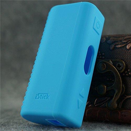 Silicone Case for eLeaf iStick 20w & 30w Cover Wrap Skin (Light Blue)