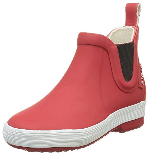 Aigle Unisex-Kinder Lolly Chelsea Gummistiefel Rot (Rouge) 31 EU