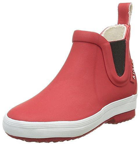 Aigle Unisex-Kinder Lolly Chelsea Gummistiefel Rot (Rouge) 34 EU