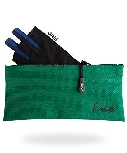 FRIO DOPPEL VIVA Insulin Tasche für 2 Pens oder z.B. 1 Pen und 2 Ersatzpatronen mit einem Reißverschluss