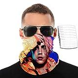 HARXISE Justin Bieber - Fascia per capelli super morbida con filtro per viso, senza cuciture, per uomo/donna/bambino, Con 6 filtri., Taglia unica