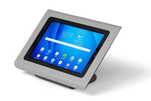 Tabdoq antidiefstal-tafelhouder voor tablet Samsung Galaxy TAB A6 10,1 inch 2016 zilvergrijs