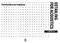 Detailing for Acoustics