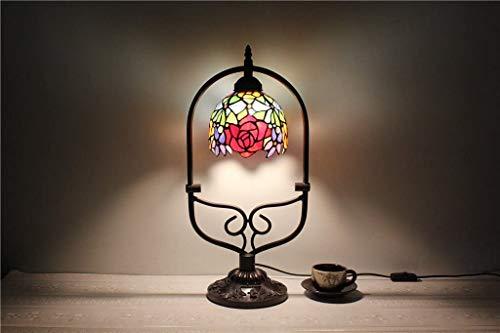 HDDD 6 inch roze kleurrijke parels handwerk lamp nachtlamp slaapkamer tweepersoonsbed tafellamp kinderkamer