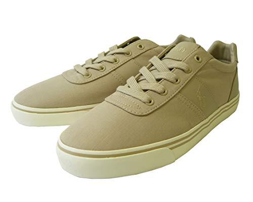 [ラルフローレン] スニーカー メンズ 靴 シューズ キャンバス(カーキベージュ) HANFORD (メーカーサイズ:9.5) *箱傷あり RL-326 [並行輸入品]