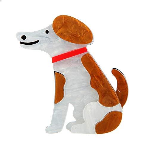 CLEARNICE Nuevos Broches De Acrílico para Perros Beagle, Broches De Animales Grandes,...