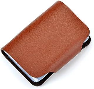 Other Fashion Business Credit Card Holder Leather Strap Buckle Bank Card Wallet Bag 26 Card Case Id Holder