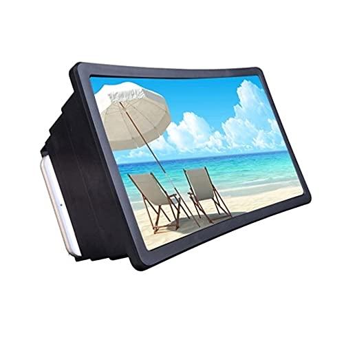 SENZHILINLIGHT Amplificador universal de la pantalla de vídeo del teléfono móvil para la pantalla de vídeo del teléfono de la pantalla del amplificador del soporte del expansor