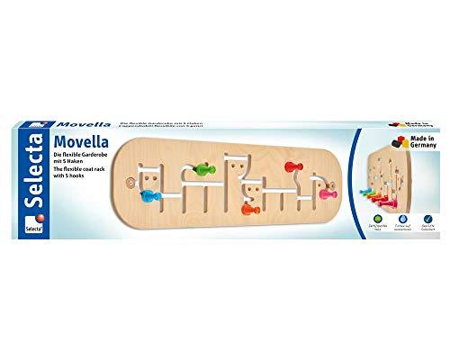 Selecta 60007 Movella, porte-manteau pour enfant, en bois