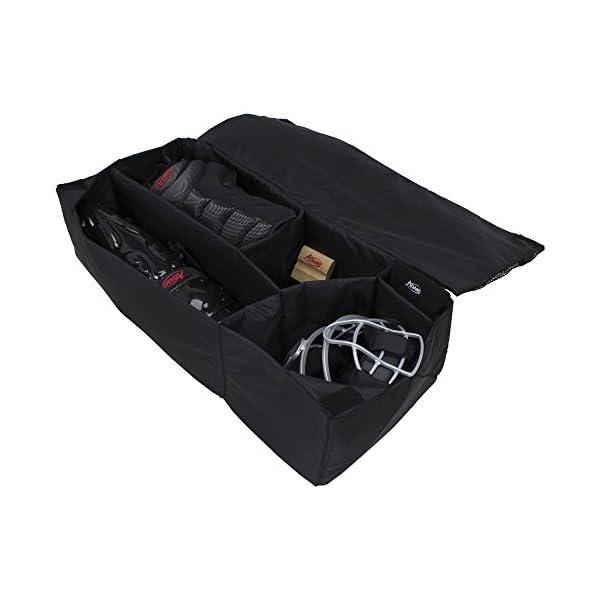 ADAMS USA Baseball/Softball Umpire Equipment Organizer Bag, Black