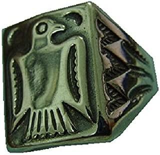 Old Pawn Harvey Era Navajo Ingot Indian Fred Bird Silver Sterling 925 Ring