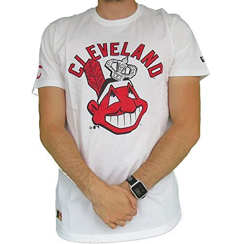 New Era - MLB - Cleveland Indians - T-shirt | weiß