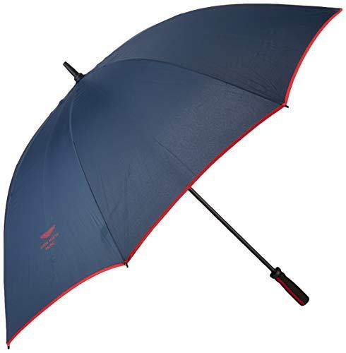 Hackett Herren AMR LONG CONTRAST Regenschirm, Mehrfarbig (Navy/Red 5dc), One Size (Herstellergröße: 000)