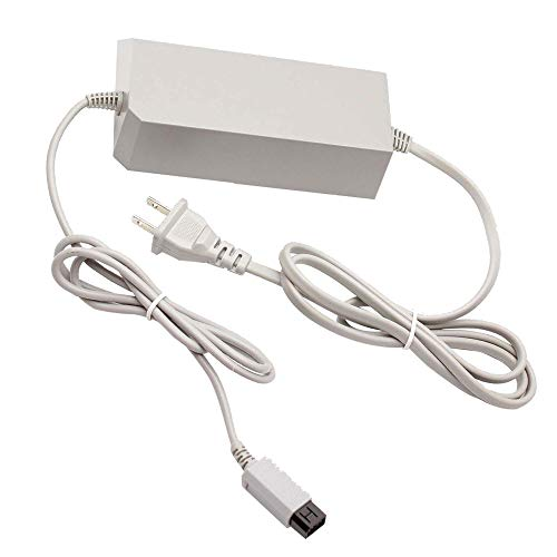 Console Charger for Wii , AC Wall Power Adapter Supply Cable Cord for Nintendo Wii (Not for Nintendo Wii U)