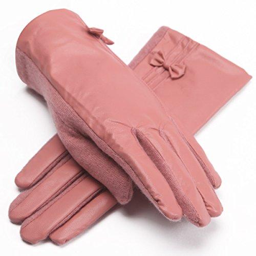 L cuir véritable doux gants d/'équitation de conduite casual Chers pour femme gris foncé M