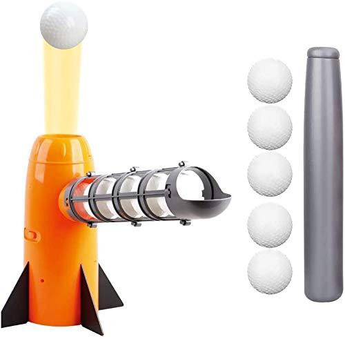J & J Baseball Einführungs-Maschine, Kinder-Baseball-Außen Baseball Pitching Machines Launcher Spielzeug Automatische Ballmaschine Sportausrüstung Baseball-Maschine