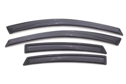 Auto Ventshade 94529 Original Ventvisor Side Window Deflector Dark Smoke, 4-Piece Set for 2013-2016 Dodge Dart