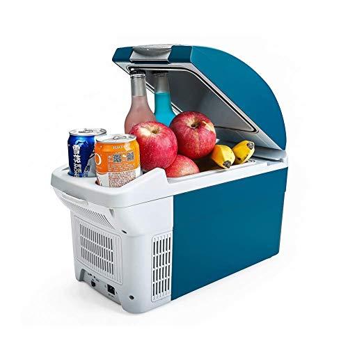 AOLI Elektrische Kühlbox 8.5L Autokühlschränke Tragbarer Gefrierschrank 12V / 220V Multidirektionale Wärmeableitung Kein Lärm Geringer Energieverbrauch Camping Beach