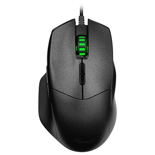 Rosewill Optical Gaming Mouse with 8 Buttons, 4000 DPI - ION D12