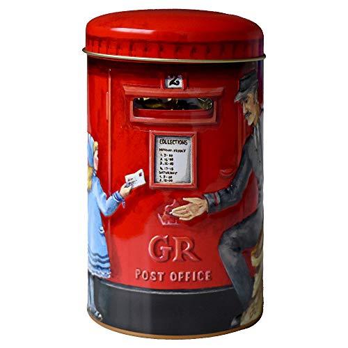 Churchill's (チャーチル) ポストボックス缶 イングリッシュトフィー 200g キャラメル 缶入り お菓子 かわいい イギリス 輸入 プレゼント