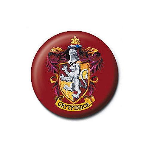 Pritties Accessories Echte Warner Bros Harry Potter Gryffindor House Crest Button Abzeichen Pin Hogwarts
