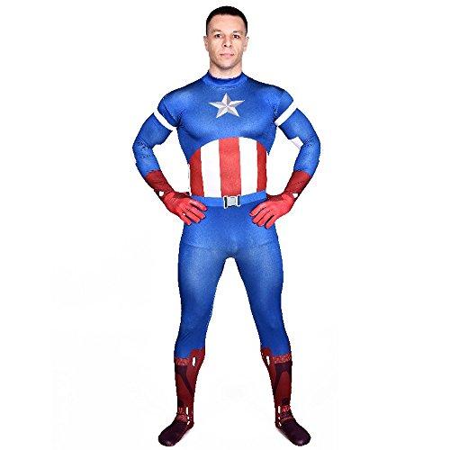 shoperama Capitan America The Avengers - Tuta da uomo