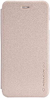 Protection Cover for iPhone 7 by Nillkin, Sparkle leather, Gold