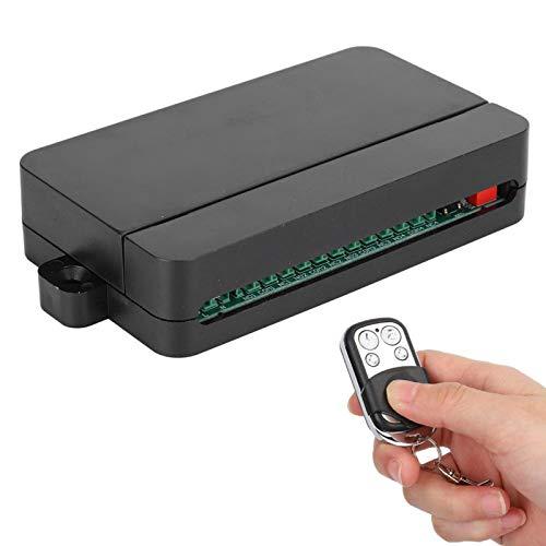 ASHATA 85VAC-256VAC Interruptor de Control Remoto inalámbrico (200M Remote Rang), relés de Cuatro vías de Voltaje Amplio Interruptor de Control Remoto de luz, para Garaje, iluminación, Cortinas, etc.