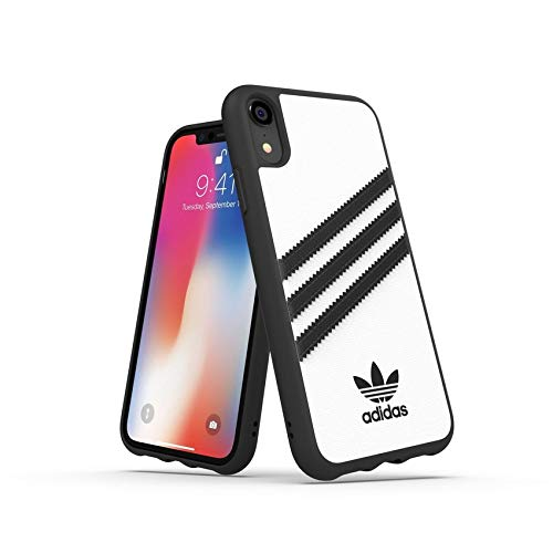 Adidas Originals, cover per iPhone XR, modellato, Bianco/Nero