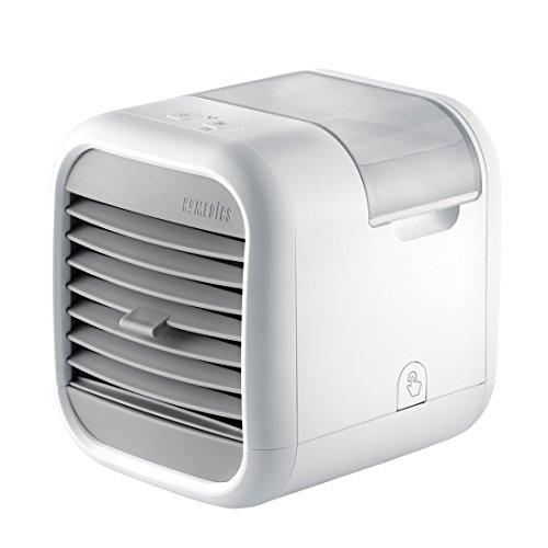 HoMedics MyChill Luftkühler, Abkühlung bis zu 7°, 1,8m Kühlbereich, 2 Geschwindigkeitsstufen, Einstellbare Winkel, Sauberer Wassertank Technokogie, ideal fürs Büro oder Zuhause
