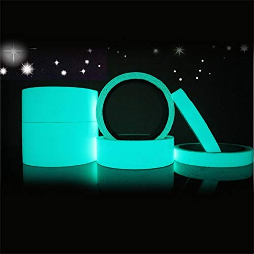 Hahuha Selbstklebend, Reflective Glow Tape Selbstklebender Aufkleber Abnehmbares Leuchtband, Wohnkultur Dekoartikel Wohnaccessoires Accessoires