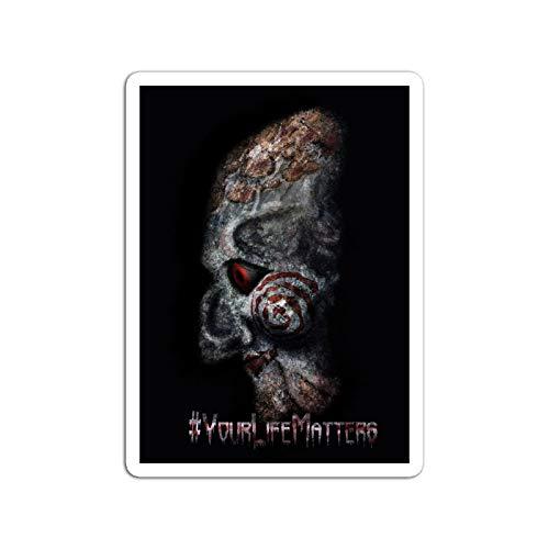 KoutYukshop Sticker Motion Picture #yourlifematters Saw Movies Video Film (3