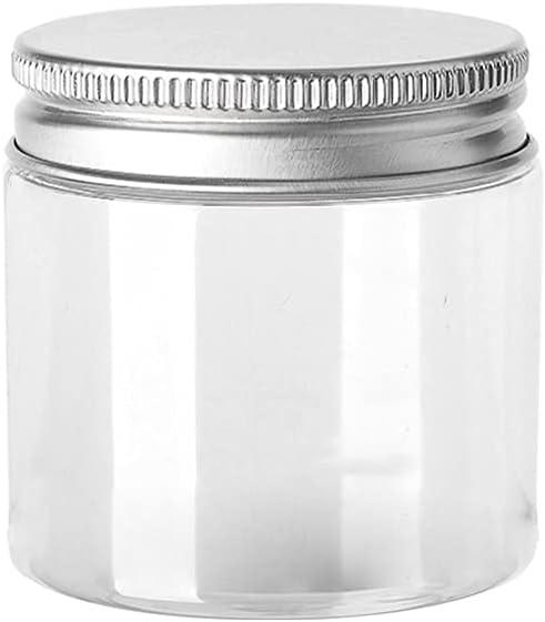 30ml 50ml 60ml 80ml Empty Plastic Trust Clear Jars Spring new work Cosmetic Mak Bottle