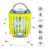 veerkey - Linterna LED 3 en 1 para Matar Mosquitos y Repelente de Insectos IPX6, Color Verde