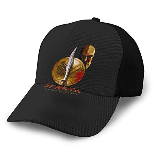 N/ Sparta Cap Baseball Hat Classic Verstellbar Schwarz