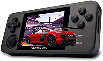 Anbernic Handheld Game Console Rg280m Retro Game Console Opendingux Tony System Free With 32g Tf Card Built In 2500 Game Console 2 8 Inch Ips Screen Portable Game Console Black Amazon De Toys Games