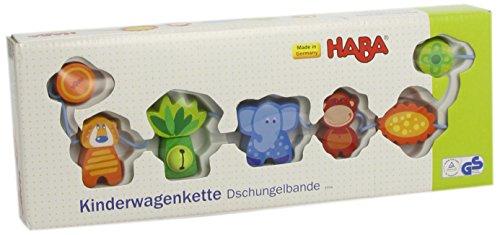 HABA 3994 - Kinderwagenkette Dschungel-Bande