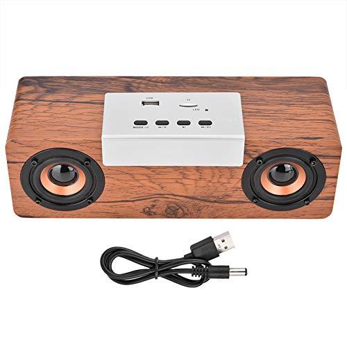 Winnfy Altavoz al aire libre USB estéreo inalámbrico portátil multifunción Bluetooth