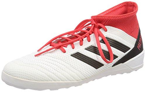 adidas Predator Tango 18.3 Indoor, Scarpe da Calcio Uomo, Bianco (Ftwwht/Cblack/Reacor Ftwwht/Cblack/Reacor), 45 1/3 EU
