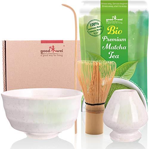 Matcha Komplett-Set inkl. Bio Matcha-Tee (Shiro)