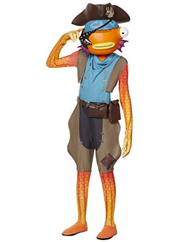 Spirit Halloween Boys Fortnite Fishstick Pirate Costume - M