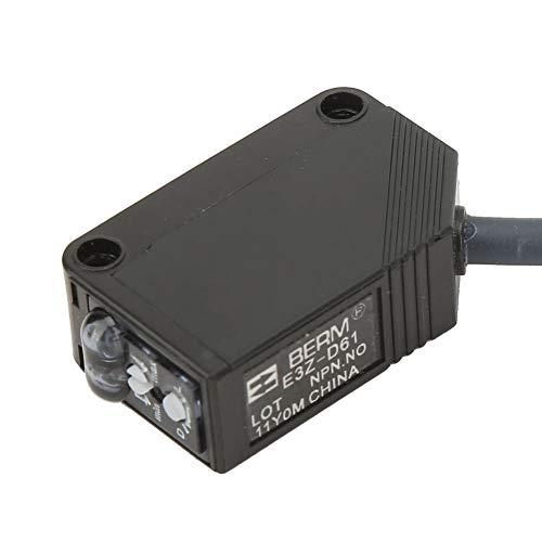 Sensor Infrarrojo De Reflexión Difusa E3Z-D61, Interruptor Fotoeléctrico NPN 12-24VDC