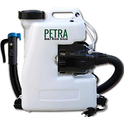 Petra Electric Fogger Atomizer Backpack Sprayer - 4 Gallon Mist Blower with Extended Commercial Hose...